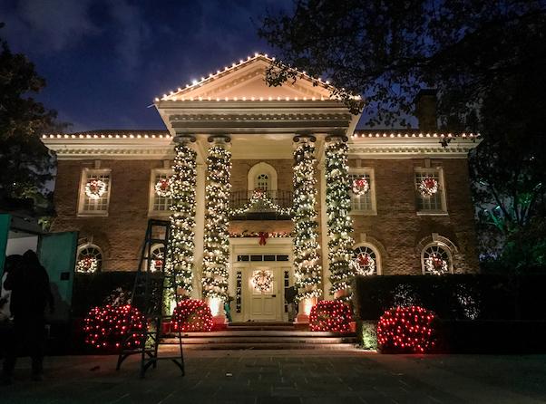 Christmas Light Installation - Dallas Landscape Lighting