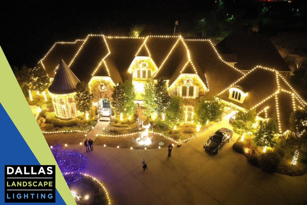 Christmas Light Installation - Dallas, TX