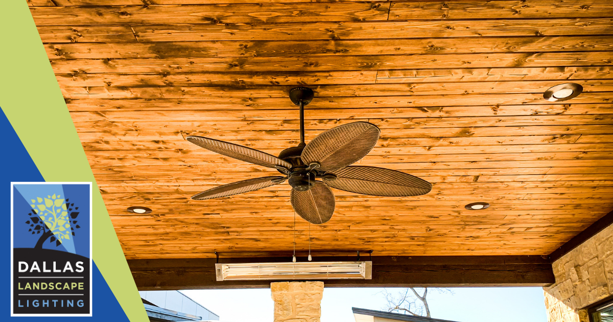 Fan Installation Services in Dallas - Dallas Landscape Lighting