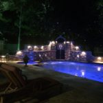 frisco landscape lighting and pool / wall lights