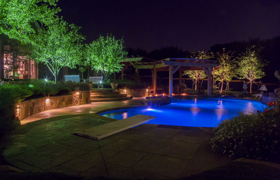plano outdoor lighting dallas landscape lighting
