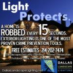 plano outdoor lighting security