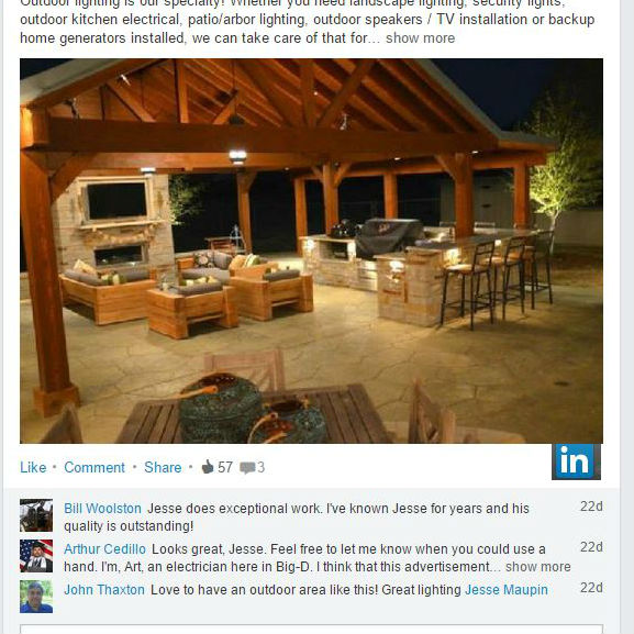 LinkedIn-Dallas-Landscape-Lighting-Review-MD