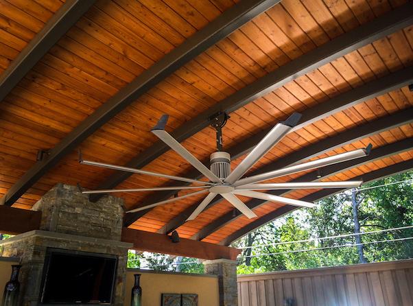 Outdoor Fan Installation in Dallas, TX