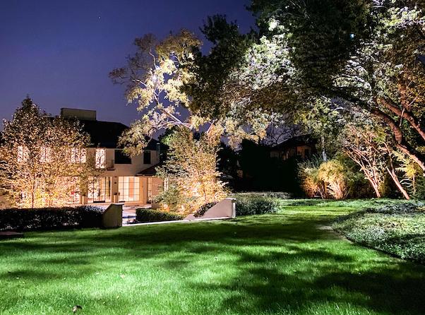 Outdoor Landscape Lighting Installation - Dallas, TX