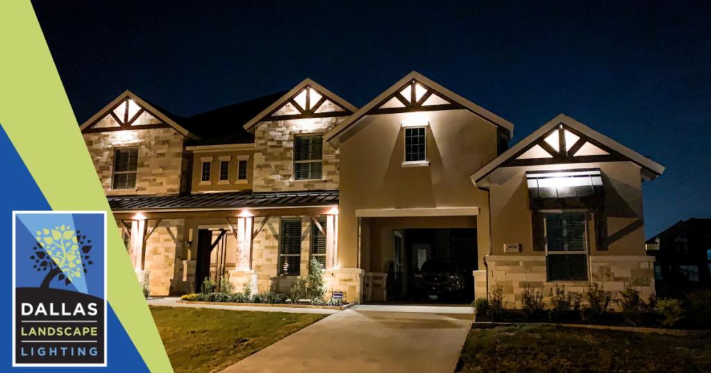 Outdoor Lighting Installation - Dallas Landscape Lighting