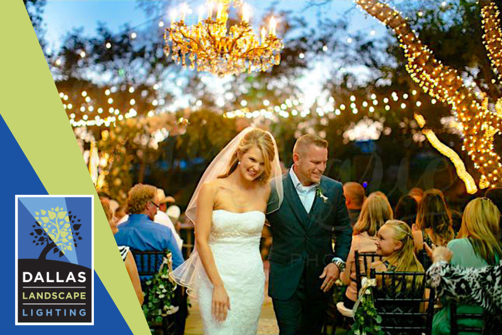 Party Sting Lighting with Dallas Landscape Lighting - Dallas,TX