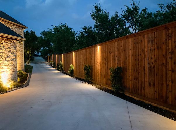 Safety Lighting Installation - Dallas Landscape Lighting