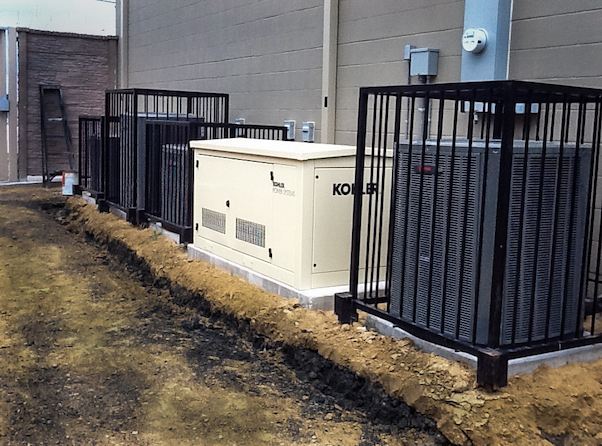 Stand-By Generator Installation - Home & Business - Dallas Landscape Lighting