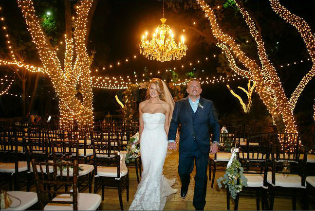outdoor wedding lights Dallas Landscape Lighting
