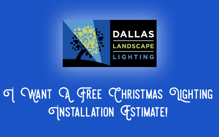 Christmas light installation company in Dallas TX