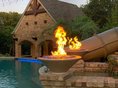 dallas fire pit installation