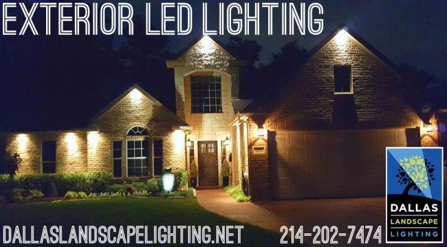 LED outdoor lighting Dallas