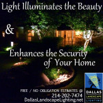 Dallas Landscape Lighting