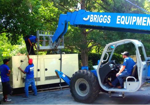 Dallas Landscape Lighting installs generators
