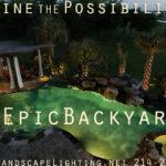 Plano outdoor lighting #EpicBackyard