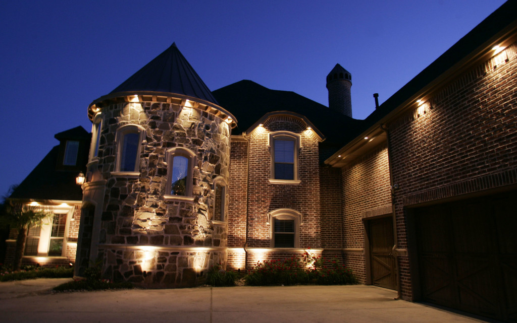Outdoor Landscape Lighting Examples : Dallas outdoor lighting time lapse