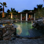 Dallas Landscape Lighting outdoor light installation pictures