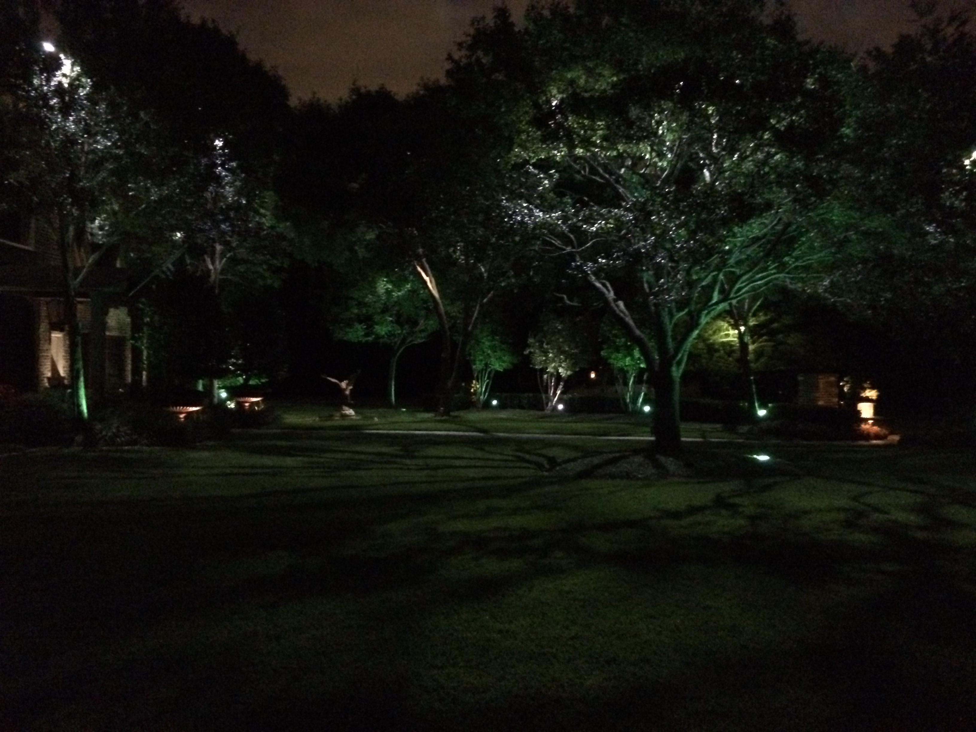 Plano outdoor lighting dallas landscape lighting for Landscape lighting packages