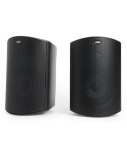 polk audio outdoor speakers installed by Dallas Landscape Lighting