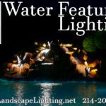 Mckinney landscape lighting Waterfeature Lighting