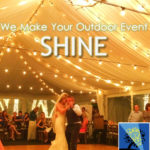Rockwall wedding lighting